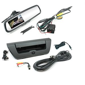 "ROSTRA - FORD TAILGATE CAMERA & 4.3"" REARVIEW MIRROR"