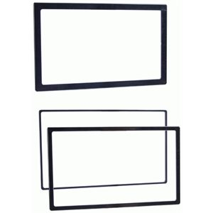 METRA 3 PACK DOUBLE DIN TRIM RINGS