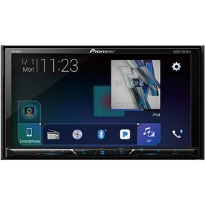 "PIONEER - 7"" DOUBLE-DIN, BLUETOOTH, SIRIUSXM"