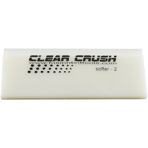 "FUSION - 5"" CLEAR CRUSH SQUEEGEE BLADE"