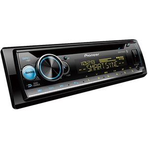 PIONEER - INDASH MP3 / CD W / BLUETOOTH & CUSTOM COLORS