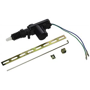 INSTALL BAY DOOR LOCK ACTUATOR 2 WIRE EACH