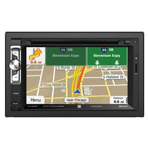 DUAL - DOUBLE DIN 6.2 MULTIMEDIA NAVIGATION & BLUETOOTH