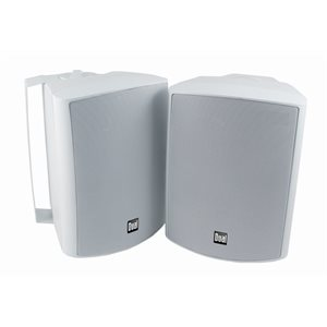 "DUAL - WHITE 4"" 3-WAY INDOOR / OUTDOOR SPEAKERS"