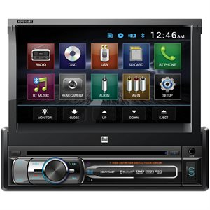 "DUAL - 7"" SINGLE-DIN MULTIMEDIA WITH BLUETOOTH"