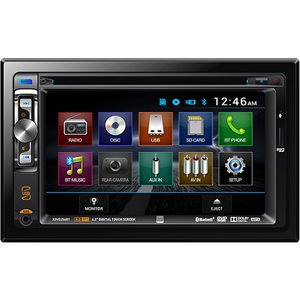 "DUAL - DOUBLE DIN 6.2"" MULTIMEDIA W / BLUETOOTH"