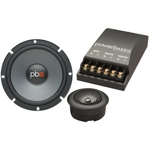 "PB - 6.5"" 2-WAY COMPONENT SET 2 OHM"